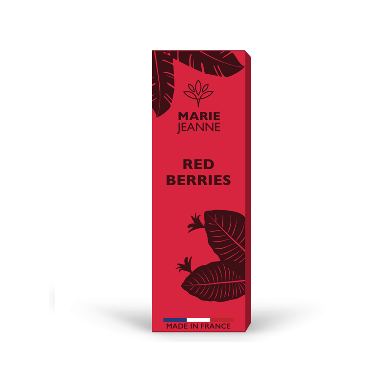 E liquide CBD - Red berries - Flora CBD