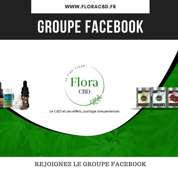 groupe facebook flora cbd