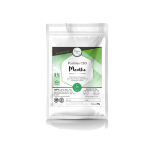 Huile de CBD - Pastilles menthe 5 mg - Flora CBD