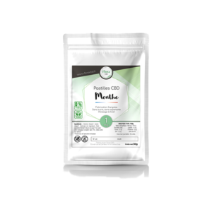 Huile de CBD - Pastilles menthe 1 mg - Flora CBD
