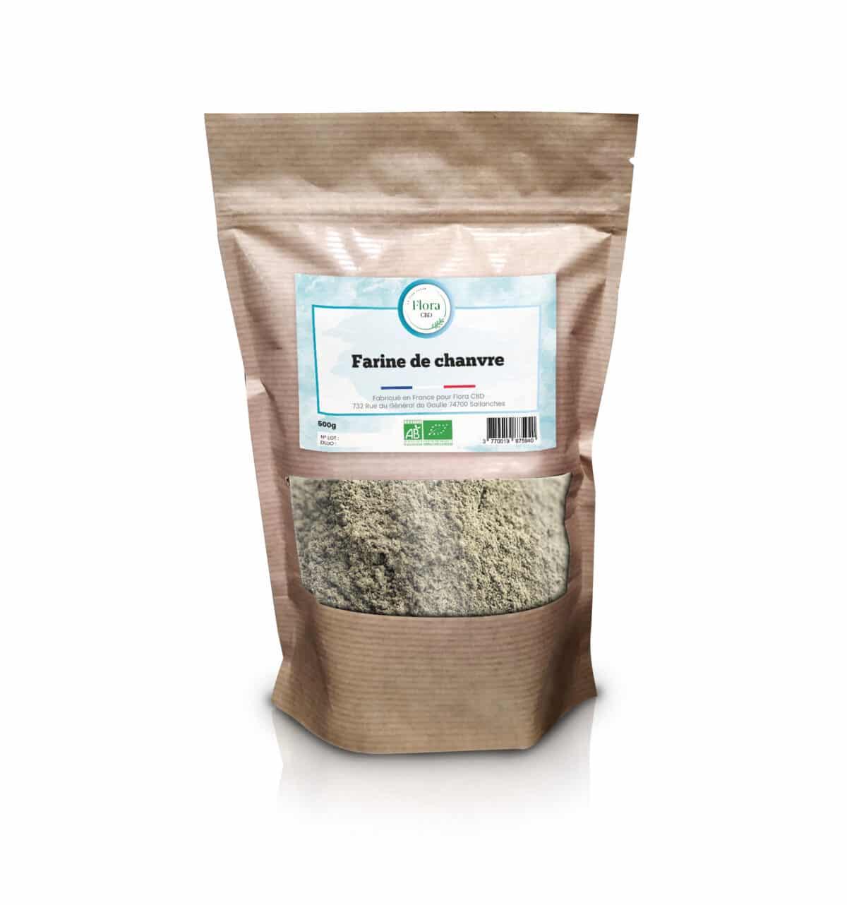 Farine de Chanvre - Flora CBD