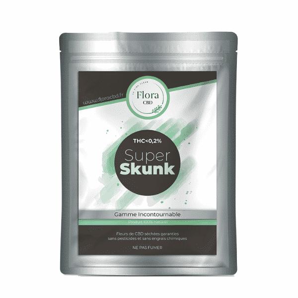 Trim fleur CBD - Super Skunk